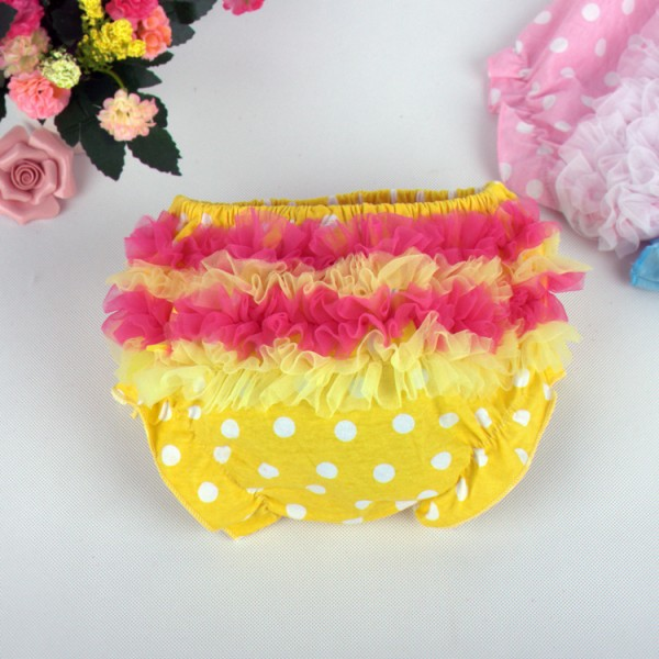 Cute Cotton Ruffle Bloomers For 19 - 22 inches Reborn Girls