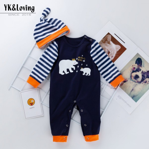 2-Piece Mother's Day Jammies And Hat Set For 19 - 22 inches Reborn Babies