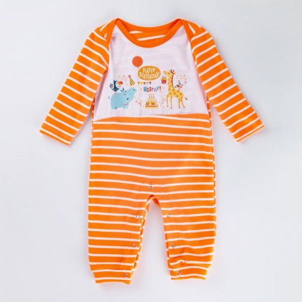 One Piece Birthday Jammies For 19 - 22 inches Reborn Babies