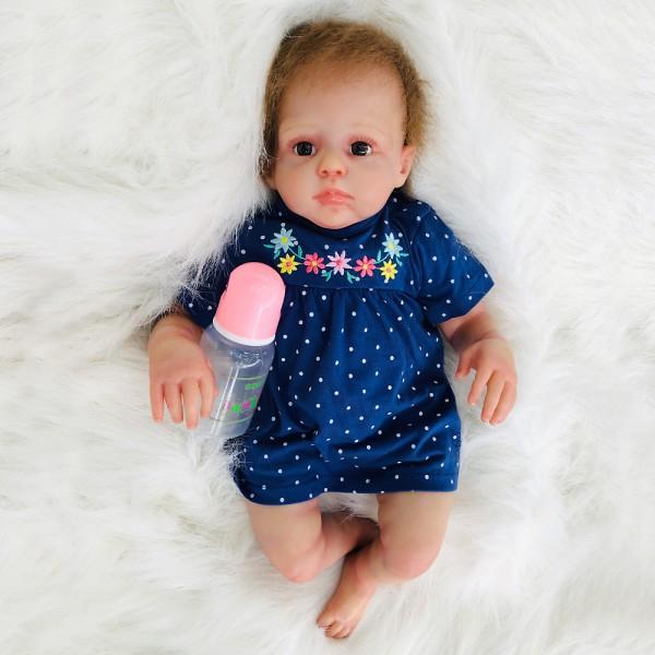 Realistic Reborn Baby Doll Lifelike Silicone Baby Boy 20inch