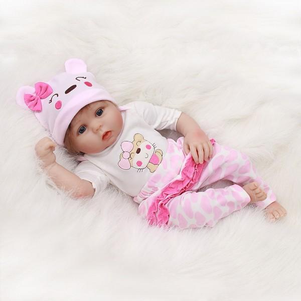Sweet Baby Girl Lifelike Baby Doll - Realistic Reborn Doll 20inch
