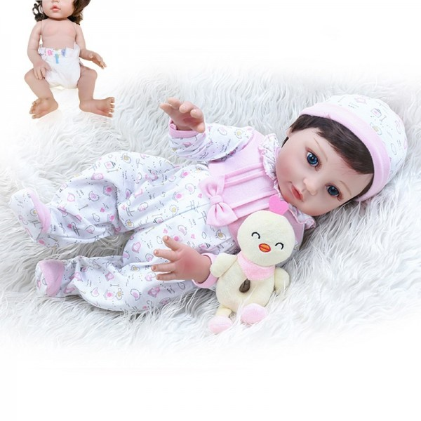 Most Popular Reborn Babies That Look Real Full Body Silicone Girl Doll 19inche