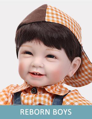 reborn silicone baby boy